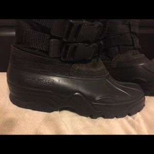 L.L. Bean Shoes - Awesome L.L. BEAN winter rubber boots  wool lining